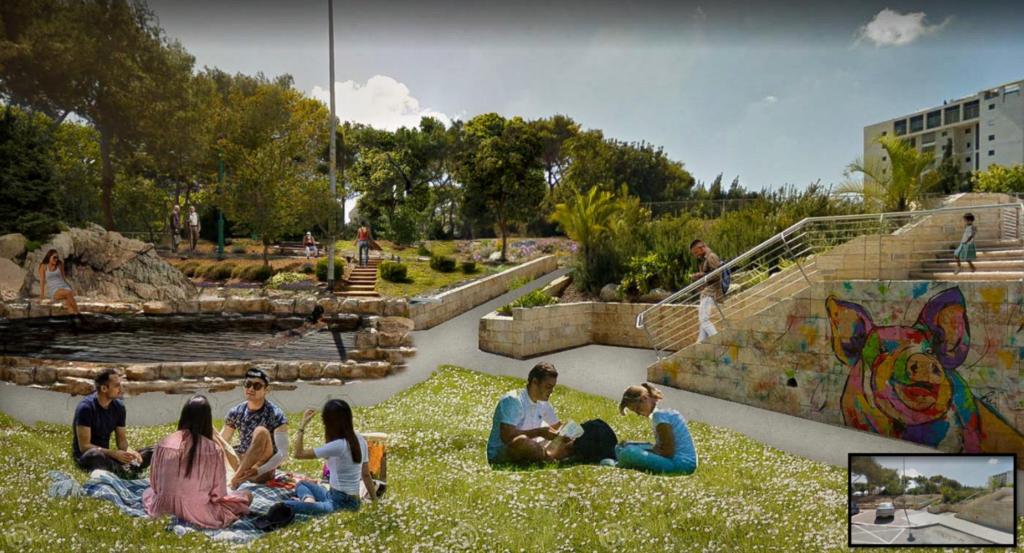 קארפול בשכונת ורדיה בחיפה